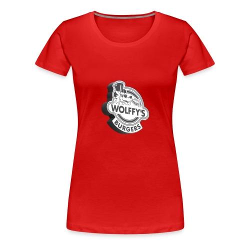 Wolffy's Hamburgers - Women's Premium T-Shirt