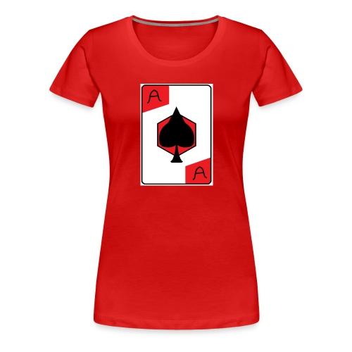 Ace of spades - Women's Premium T-Shirt