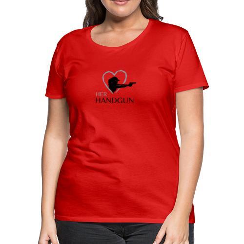 Official HerHandgun Logo - Women's Premium T-Shirt