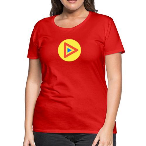 Most Played Play Logo - Women's Premium T-Shirt
