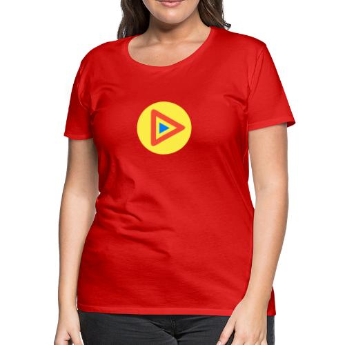 Most Played Play Logo - Women's Premium T-Shirt