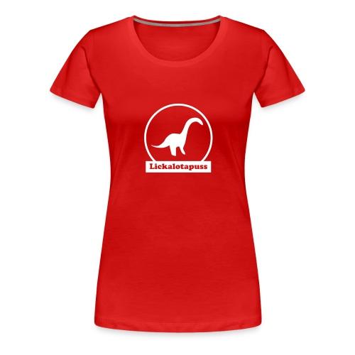 Lickalotapuss - Women's Premium T-Shirt