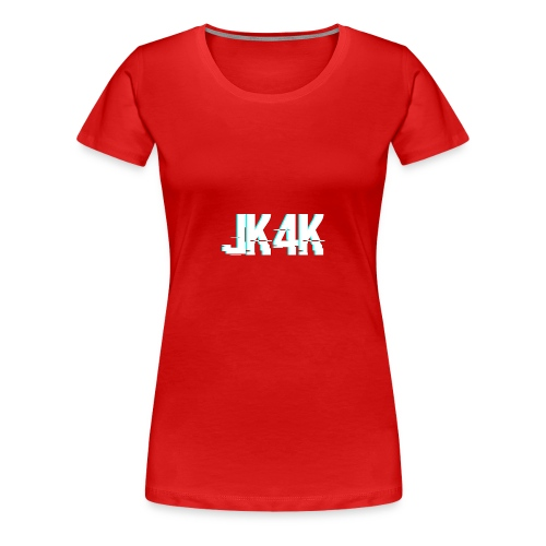 Glitch JK4K - Women's Premium T-Shirt