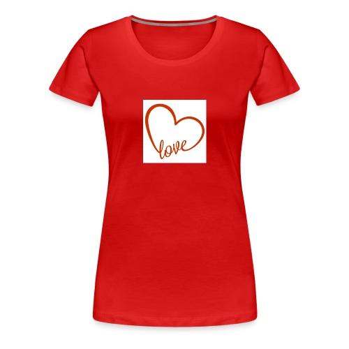 love1 - Women's Premium T-Shirt