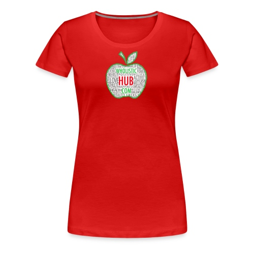 WholisticHub Apple - Women's Premium T-Shirt