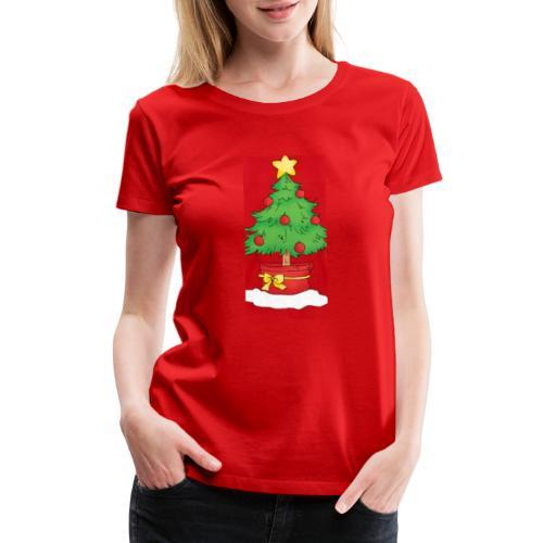 Xmas tree - Women's Premium T-Shirt