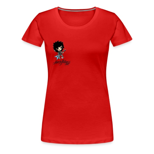 axelofabyss self portrait - Women's Premium T-Shirt