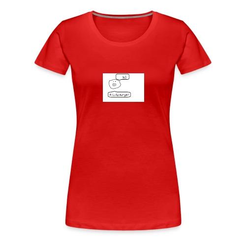 Derp Face! - Women's Premium T-Shirt