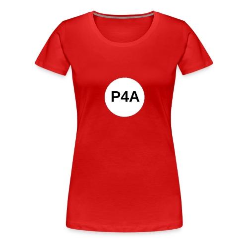 16-white-circle-magnet-board_-1- - Women's Premium T-Shirt