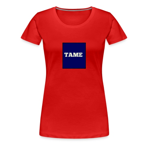 TAME Blue - Women's Premium T-Shirt