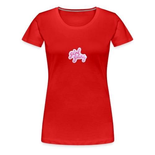 Girl Gang PNG - Women's Premium T-Shirt