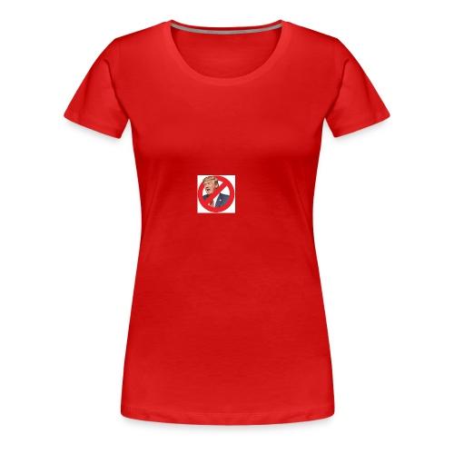 blog stop trump - Women's Premium T-Shirt