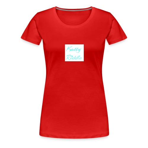 Katty Riddle - Women's Premium T-Shirt