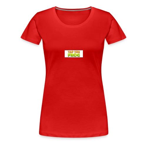 Tap the frog - Women's Premium T-Shirt