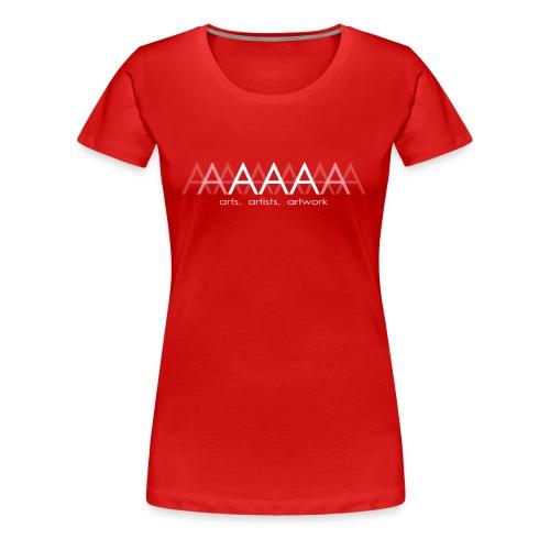 ArtsArtistsArtwork White Brand Logo - Women's Premium T-Shirt