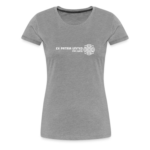 1148830 15363686 expatria white orig - Women's Premium T-Shirt