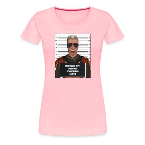Trask TBI Mugshot - Women's Premium T-Shirt