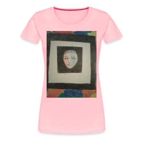 The face - Women's Premium T-Shirt