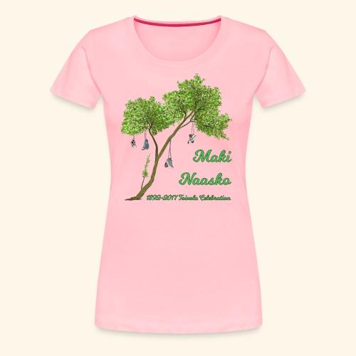Maki Naasko Toivola Celebration 2017 - Women's Premium T-Shirt