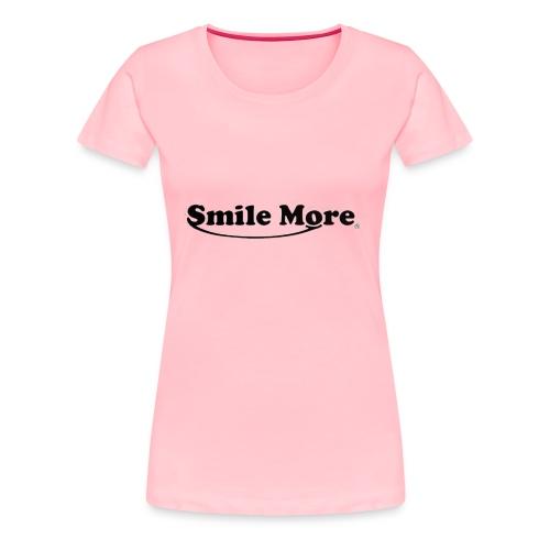 ROMAN ATWOOD SMILE MORE DESIGN ORIGINAL - Women's Premium T-Shirt