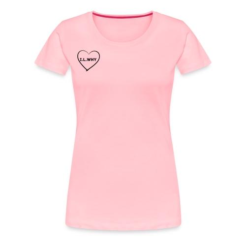 I.L.why ❤️ - Women's Premium T-Shirt