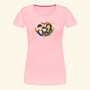OUR3BS Heart - Women's Premium T-Shirt