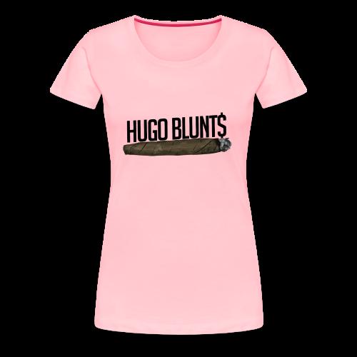 HugoBlunts Logo - Women's Premium T-Shirt