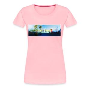 SPLASHY DROWNING OCEAN - Women's Premium T-Shirt