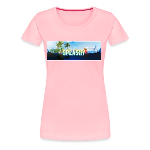 SPLASHY DROWNING OCEAN - Women's Premium T-Shirt