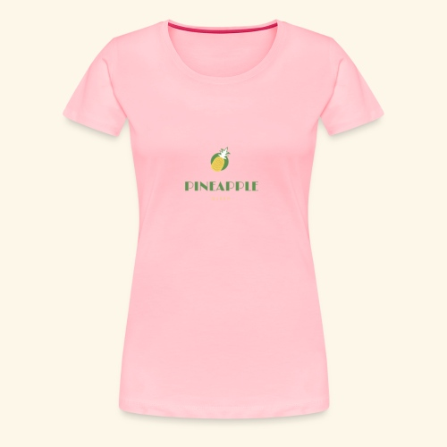 Pineapple Queen - Women's Premium T-Shirt