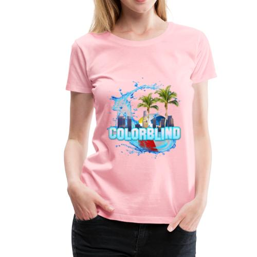 COLORBLIND - Beach Party - Women's Premium T-Shirt
