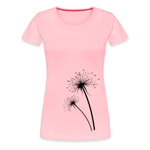 Dandelion Wishes - Women's Premium T-Shirt