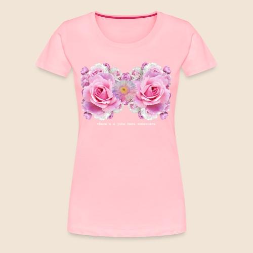 Flower Bra - Women's Premium T-Shirt