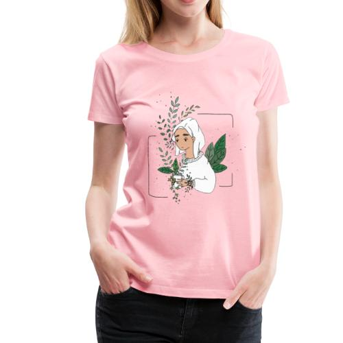 Plant Aesthetic - Women's Premium T-Shirt