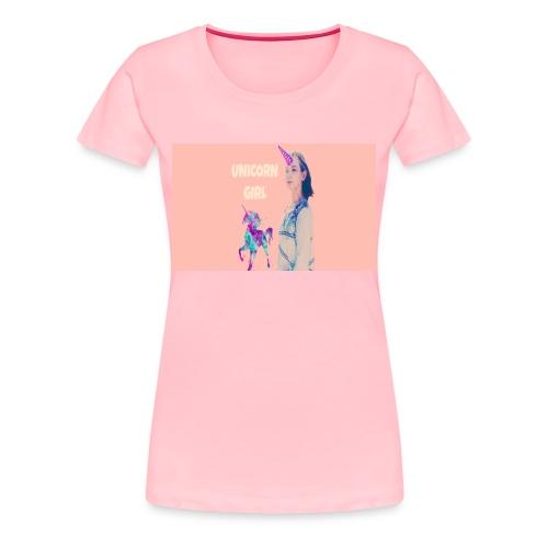 unicorn girls shirt - Women's Premium T-Shirt