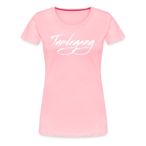 Tundegang Brushstroke - Women's Premium T-Shirt
