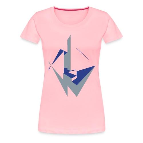 Edgy Angles - Women's Premium T-Shirt