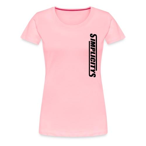 SimplicityS - Women's Premium T-Shirt