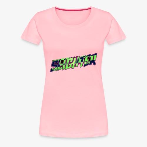 Retro Logo Glitch - Women's Premium T-Shirt