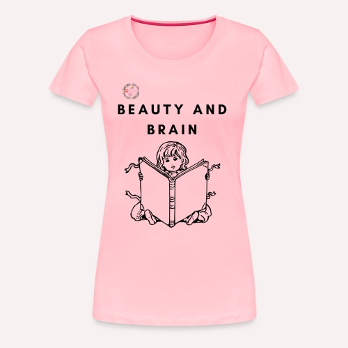 The stylish bookworm collection - Women's Premium T-Shirt