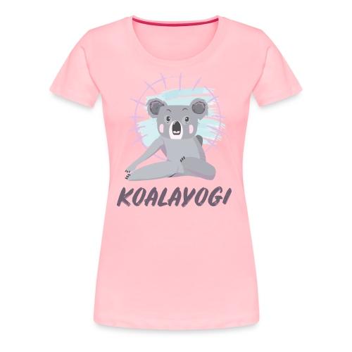 Koalayogi - Women's Premium T-Shirt