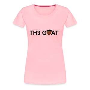The goat cartoon - Women's Premium T-Shirt