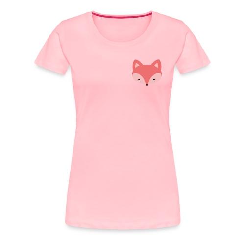Fox Gift Logo - Women's Premium T-Shirt