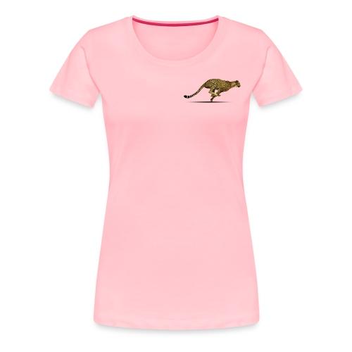 Cheetah Free PNG Image - Women's Premium T-Shirt