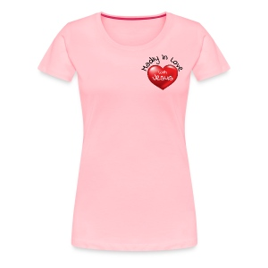 Madly In Love With Jesus - Women's Premium T-Shirt