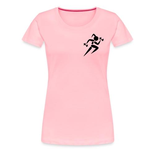 fitness girl - Women's Premium T-Shirt