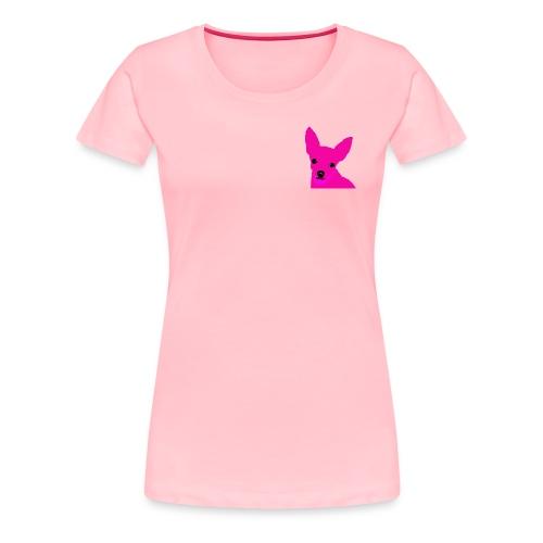 Pink Chihuahua - Women's Premium T-Shirt