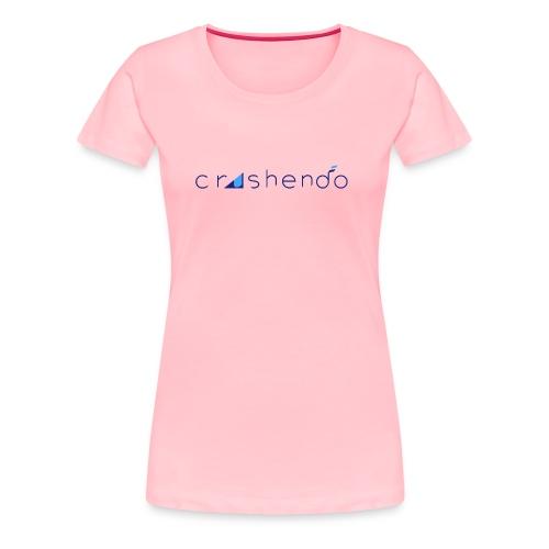 Crushendo logo - Women's Premium T-Shirt