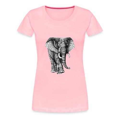 Elephant - Women's Premium T-Shirt