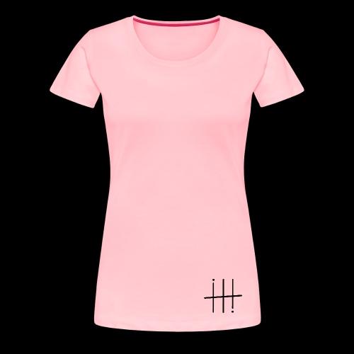 BLACK HEESH Symbol - Women's Premium T-Shirt